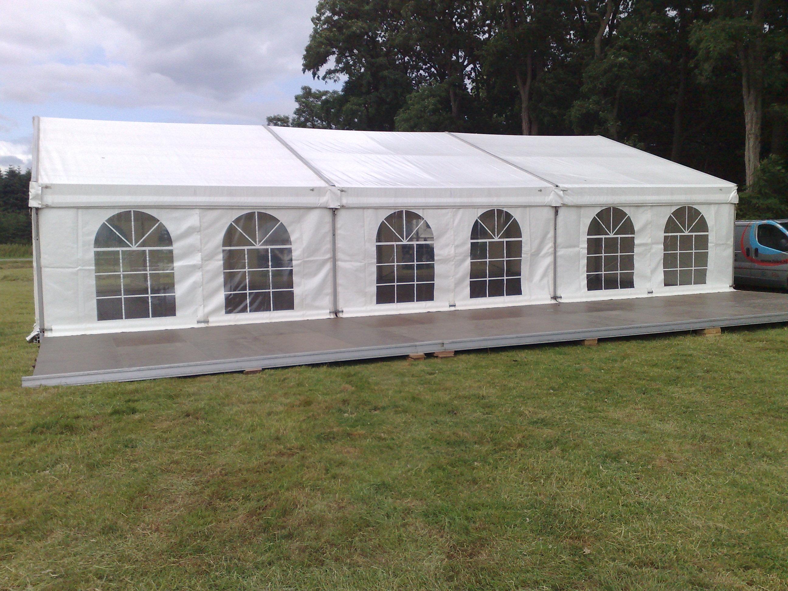 Alu tent of aluhal stijlvolle ruime tent voor uw evenement - Tent voor terras ...