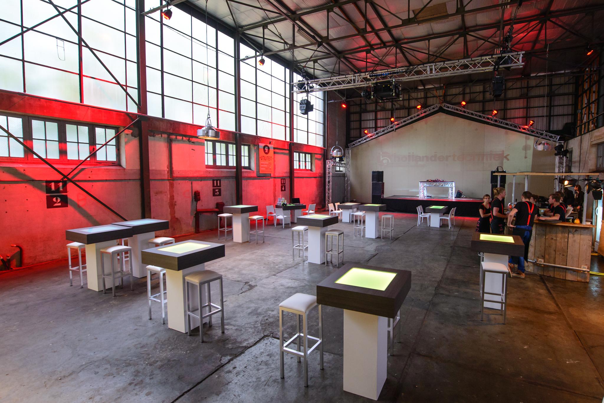Sta Tafel Huren : Statafel led huren tebe tébé evenementen service